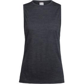 Icebreaker Sphere Mouwloos Shirt Dames zwart